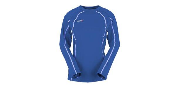 Dámske modré termo tričko s dlhým rukávom Izas