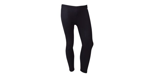 Pánske čierne termo nohavice Izas