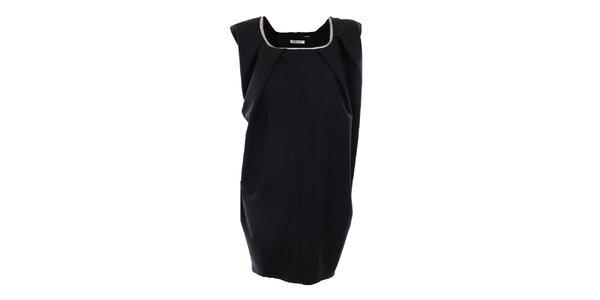 Dámske čierne oversized šaty Gene