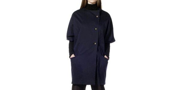 Dámsky tmavo modrý kabátik s polovičným rukávom Gene