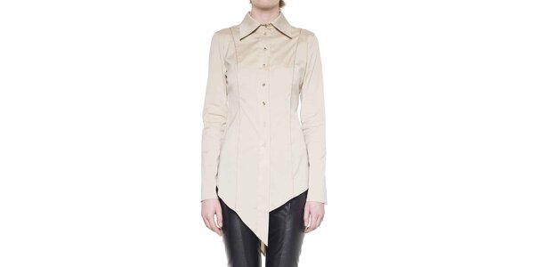 Dámska smotanová cípová košeľa Gene