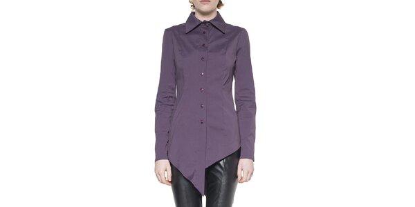 Dámska fialová cípová košeľa Gene