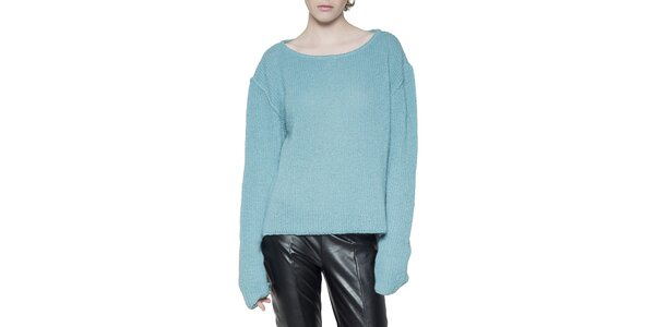 Dámsky modrý sveter Gene