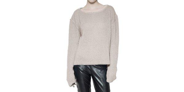 Dámsky smotanový sveter Gene