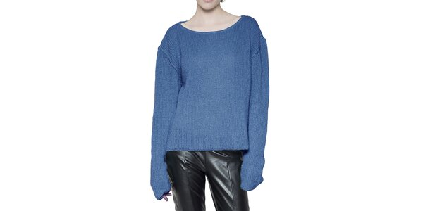 Dámsky blankytno modrý sveter Gene