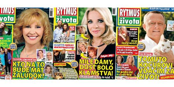 Predplatné časopisu RYTMUS ŽIVOTA