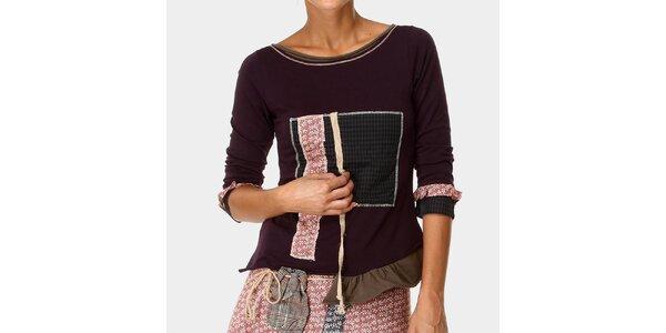 Dámske tričko vo fialovom odtieni Ian Mosh