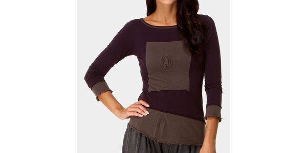 Dámske fialové tričko Ian Mosh