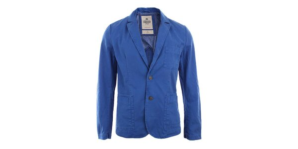 Pánske modré sako s gombíkmi Timeout