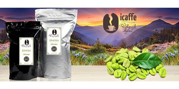 Zdravá zelená káva