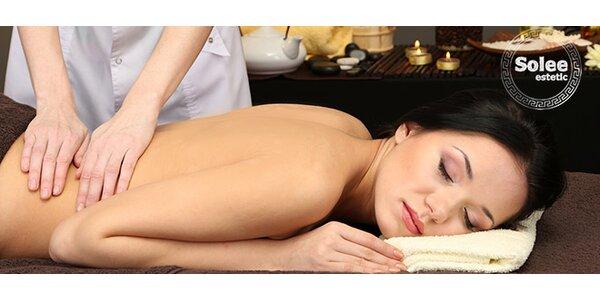 30 min alebo 50 min masáž podľa výberu