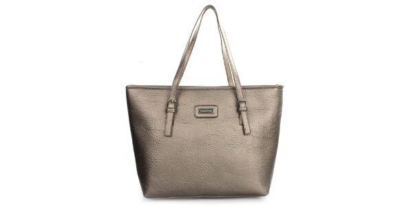 Dámska metalická kabelka s dlhými popruhmi Kangol