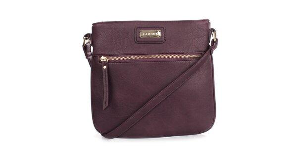 Dámska fialová menšia kabelka cez rameno Kangol