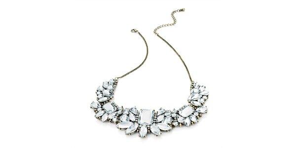 Dámsky náhrdelník s veľkými kryštálikmi Carmen Luna