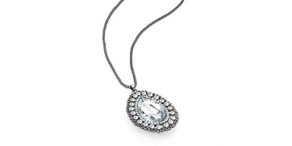 Dámsky náhrdelník s príveskom v tvare kvapky Carmen Luna