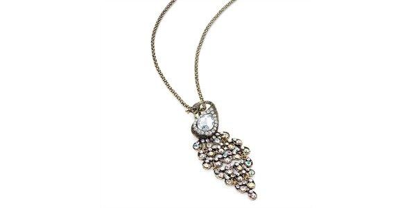 Dámsky náhrdelník s pávom Carmen Luna