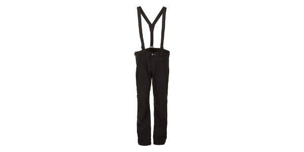 Pánske čierne softshellové nohavice E2ko