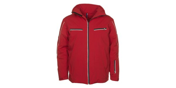 Pánska červená bunda s vodným stĺpcom E2KO