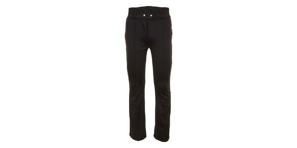 Dámske lyžiarske softshellové nohavice v čiernej farbe E2ko