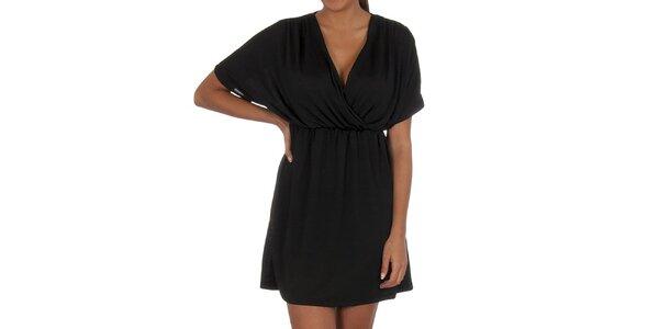 Dámske čierne šatičky Vila Clothes