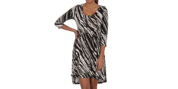 Dámske zebrované šaty Vila Clothes