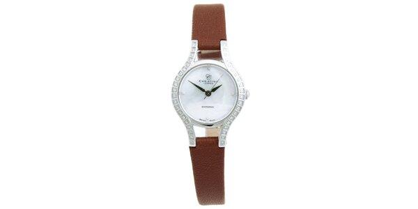 Dámske analógové hodinky s diamantmi Christina London
