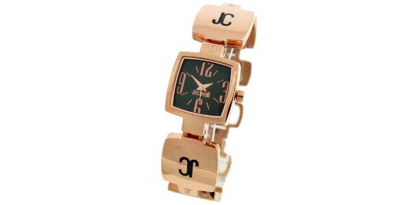 Dámske hodinky v tóne ružového zlata Just Cavalli