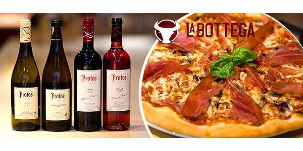 Rande v La Bottega: pizza a degustácia vína