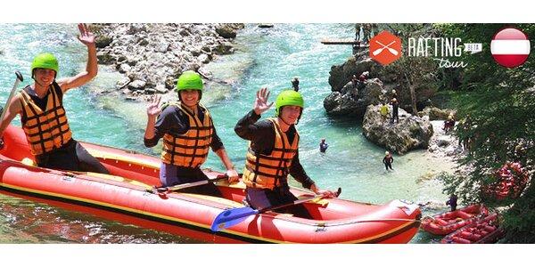 Rafting a turistika v Rakúsku