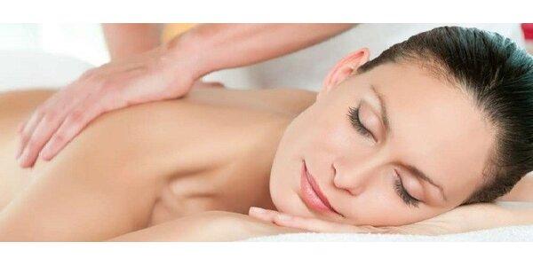35 minútová klasická masáž chrbta a šije