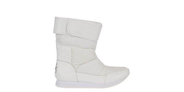 Dámske biele snehule Calvin Klein