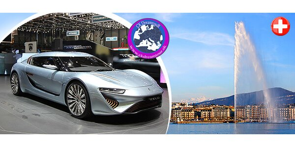 Zájazd na International Motor Show 2015 Ženeva!