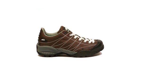 Pánske ľahké trekové topánky Numero Uno - hnedé