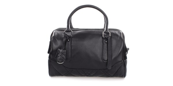 Dámska čierna kožená kabelka Clarks
