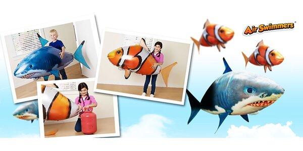 Lietajúca ryba na ovládanie s héliom alebo bez