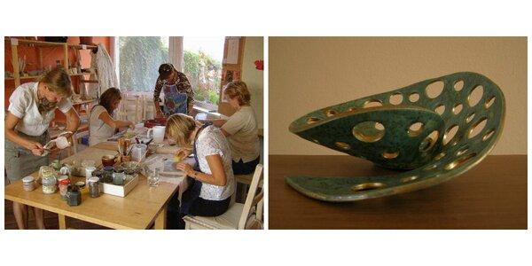 Tvorivý relax - kurz keramiky pre každého
