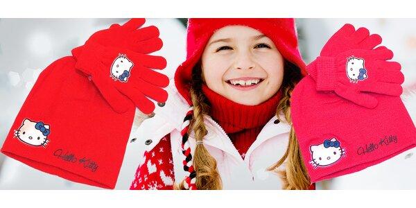 Zimný set Hello Kitty pre všetky dievčatká