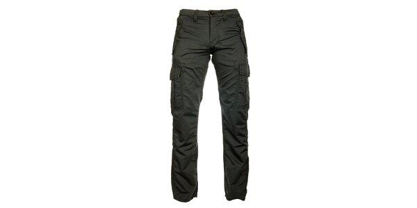 Pánske šedé nohavice Freesoul