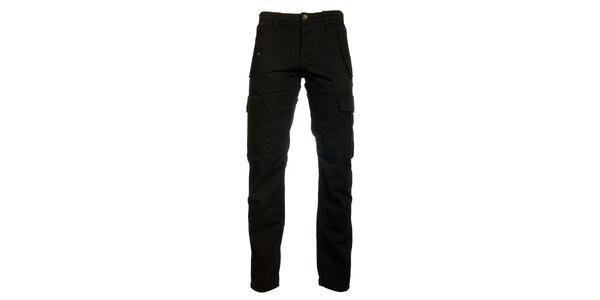 Pánske čierne nohavice Freesoul