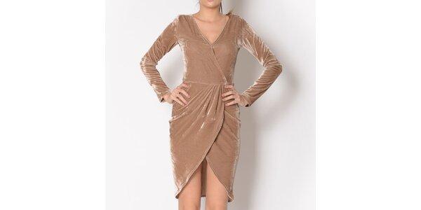 Dámske béžové šaty Santa Barbara