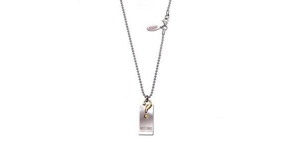 Dámsky náhrdelník s príveskom Moschino
