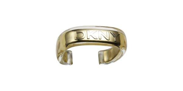 Dámsky náramok v zlatej farbe DKNY