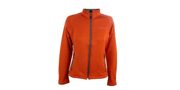 Dámska oranžová softshellová bunda Trimm
