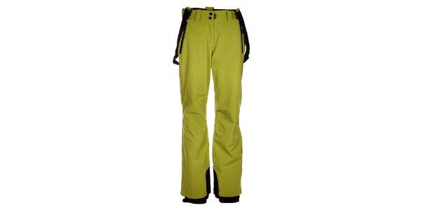 Dámske svetlo zelené lyžiarske nohavice Trimm Elli