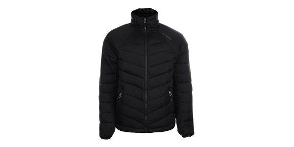 Pánska čierna páperová bunda Trimm
