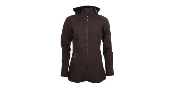Dámska dlhšia softshellová bunda Trimm - tmavo fialová