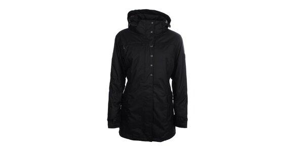 Dámska čierna dlhá páperová bunda Trimm