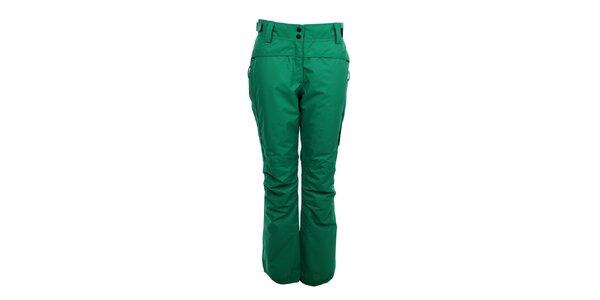 Dámske zimné nohavice Trimm - zelené