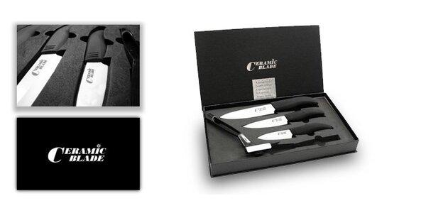 30 eur za súpravu keramických nožov a škrabku so zľavou 40 %!