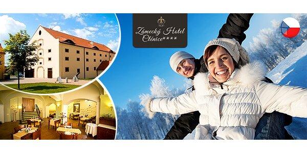 Zámocký hotel**** pri Prahe s deťmi zdarma